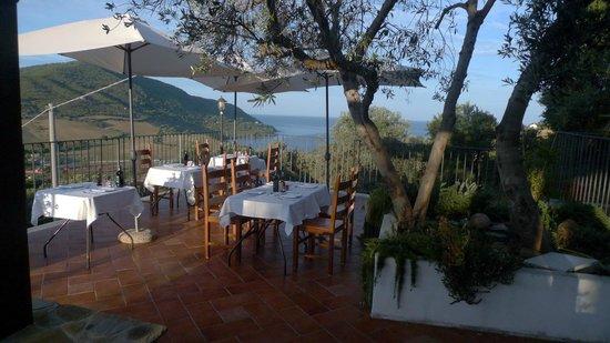 B&B Baia di Trentova: Eating and relaxation area