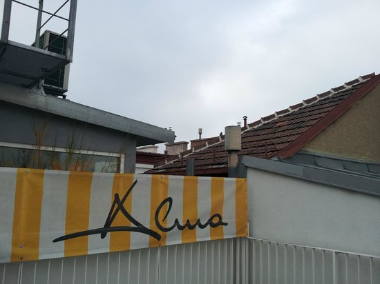 Alma Boutique-Hotel: Терраса отеля