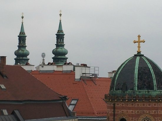 Alma Boutique-Hotel: Вид с крыши