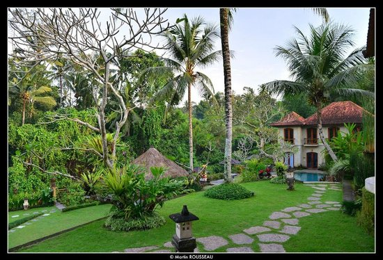 Hotel Villa-Ubud : Surrounded by nature and green