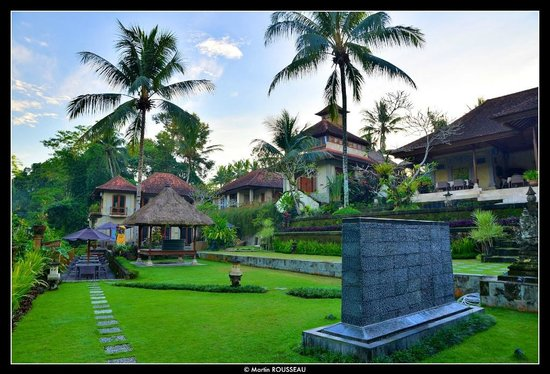 Hotel Villa-Ubud : This is an overall view of the place