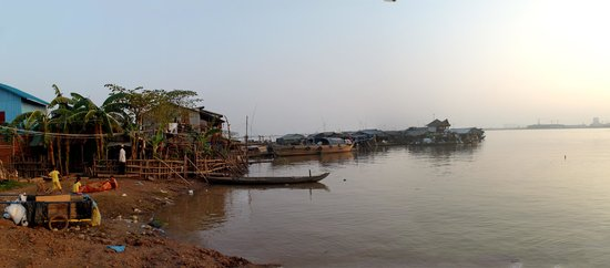 Phnom Penh Urban Adventures : Floating Village