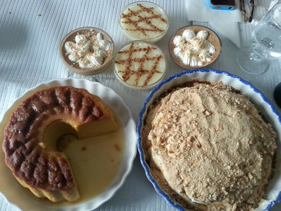 An American In Portugal Tours: A tasty array of housemade Portuguese desserts!