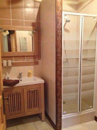 Le Domaine des Papillons : Une salle de bain super sympas !!!!!