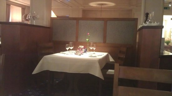 Hotel Krone Lenzburg: Dinnertime