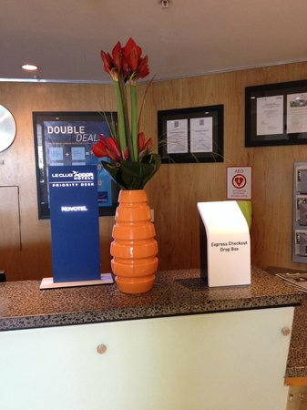 Novotel Auckland Ellerslie Hotel: Lobby