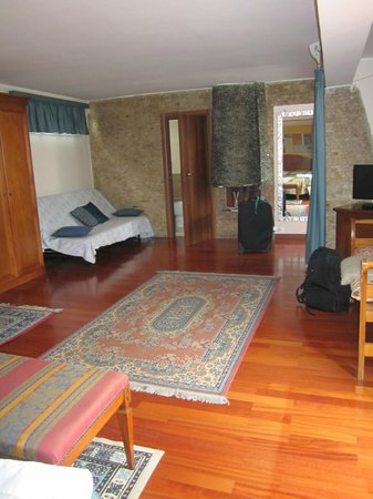 Hotel Rimini: The suite room
