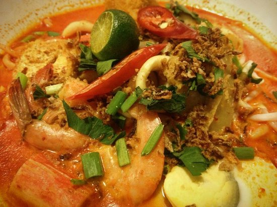 Bandar Baru Bangi, Malaysia: Mee Kari Nyonya