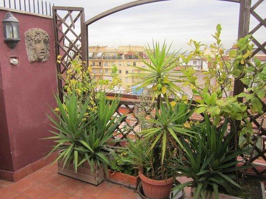 Hotel Rimini: Balcony