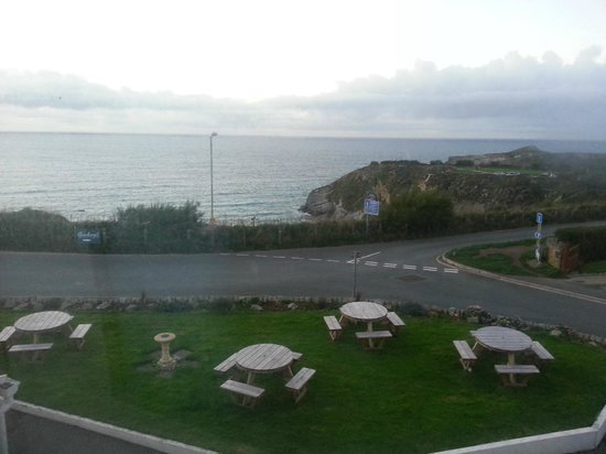 Kallacliff Hotel : View from our seaview window
