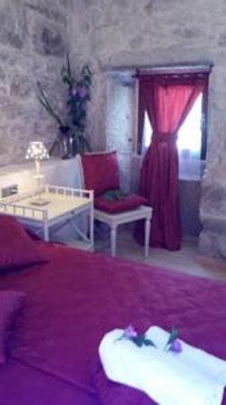 A Lonquexa Do Ganan : habitacion romantica