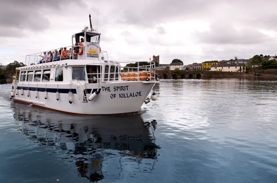 Killaloe River Cruises: Cruising on the River Shannon