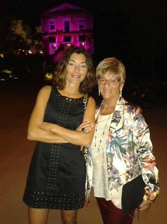 Restaurant Sant Pere del Bosc: Deante del restaurante