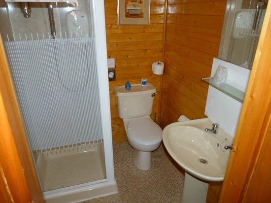 Eildon Guest House: Baño.
