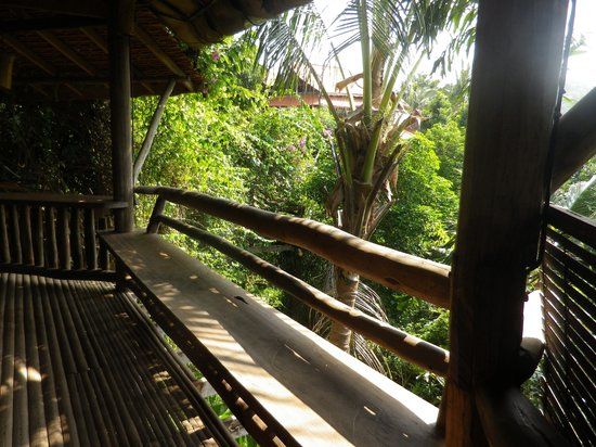 Veranda Natural Resort: One of the view from the outside area of Bungalow 4
