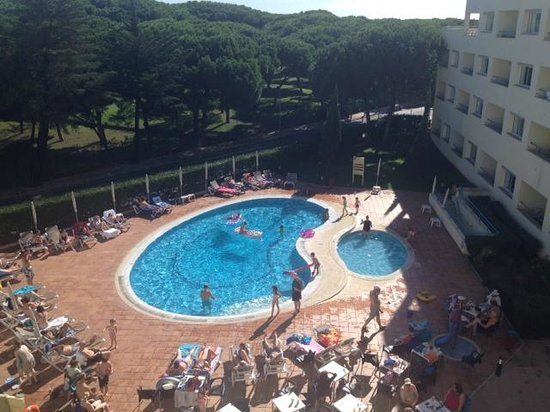 Alpinus Hotel : Poolside, great view :)