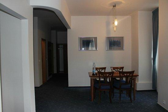 Hotel Melantrich: Dining room area