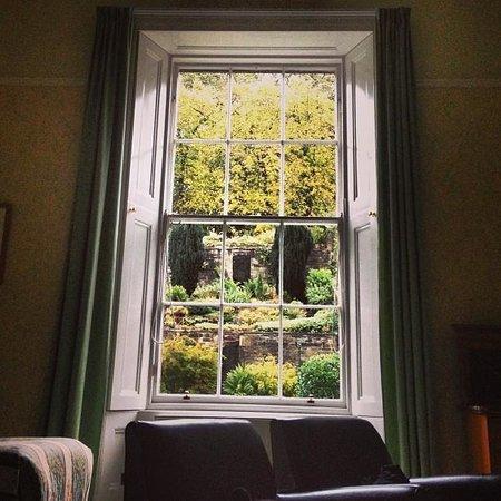 Adria House: our window overlooking the garden!