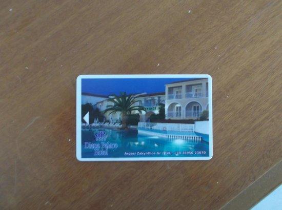 Diana Palace Hotel: Key Card