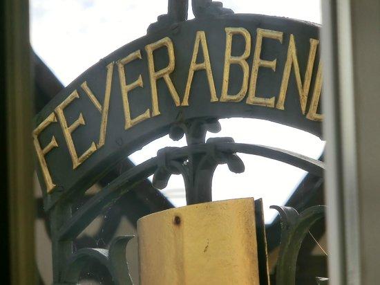 Restaurant Friedrich: Emblema del local