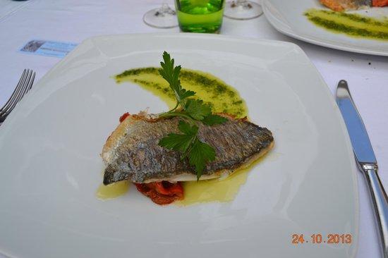 Villa Verde: рыба