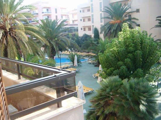 Playamar: View off the balacony