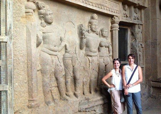Kanheri Caves: Kanheri carvings
