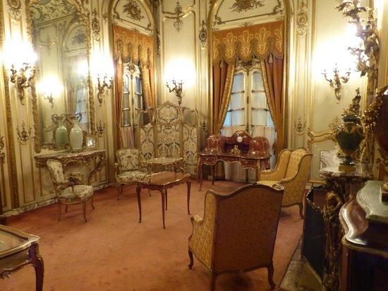 Vanderbilt Mansion National Historic Site: Sitting room