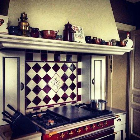Chateau de La Chaix: кухня мечты