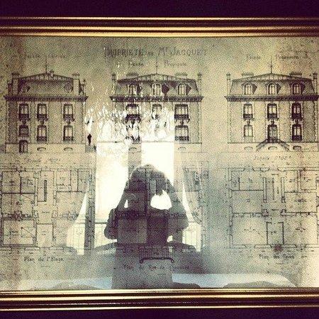 Chateau de La Chaix: чертежи шато 1904 года
