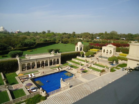 The Oberoi Amarvilas: Vista do quarto