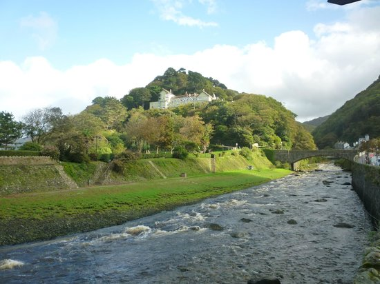 Tors Hotel: The Tors from Lynmouth