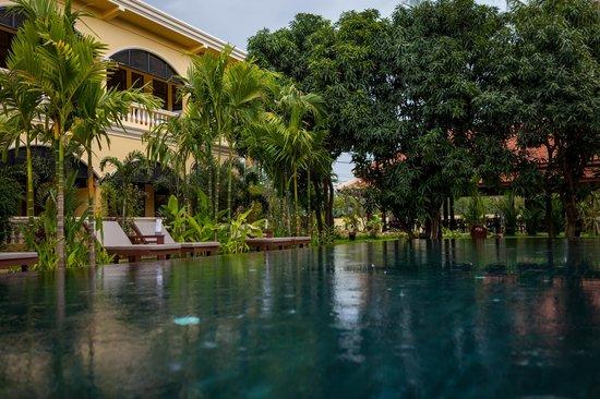 Pavillon d'Orient Boutique-Hotel: Pavillon d'O swimming pool