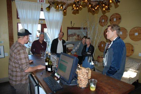 von Strasser and Lava Vine Winery: Tasting