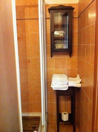 Torre Clementina: bathroom