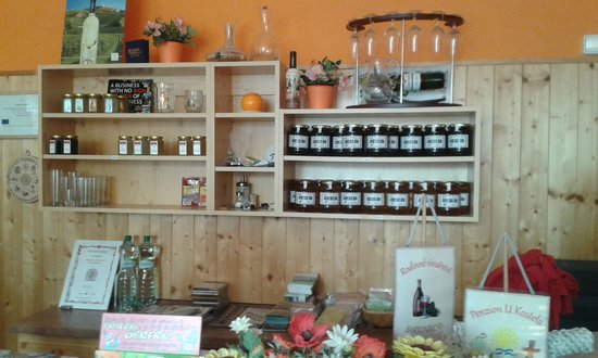 Penzion U Kostela: Home made hand made products