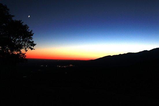 Hotel Nabia : A stunning sunset