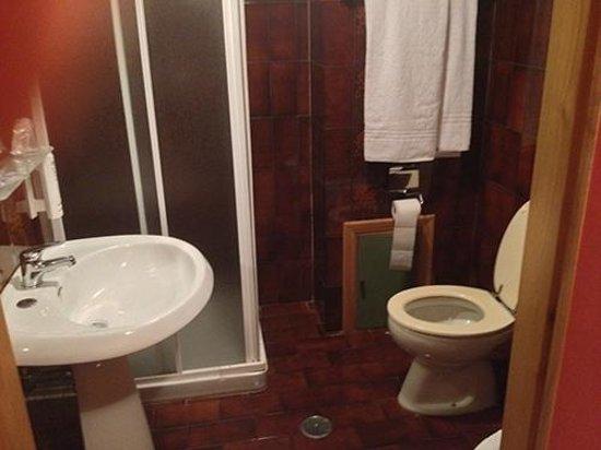 Hotel Tre Torri: Bom chuveiro