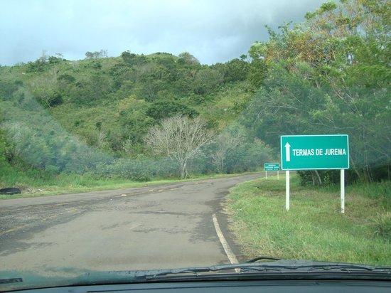 Iretama, PR: Acesso ao trevo de entrada