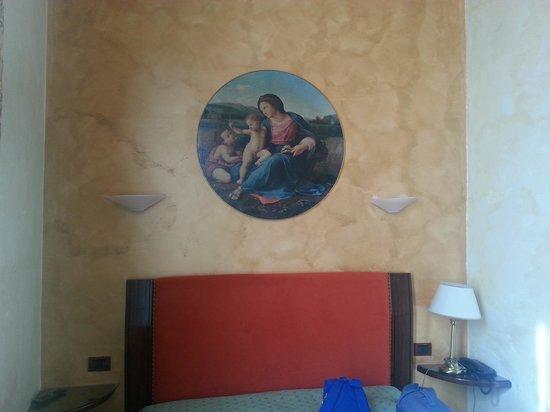 Hotel Delle Tele : la camera
