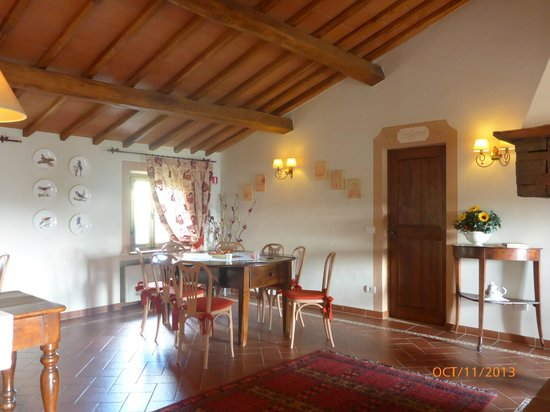 Cavarchino B&B: Breakfast room