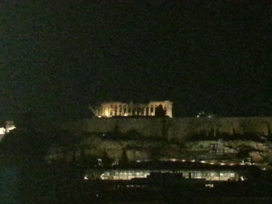 BEST WESTERN Acropolis Ami Boutique Hotel : view from the roof bar