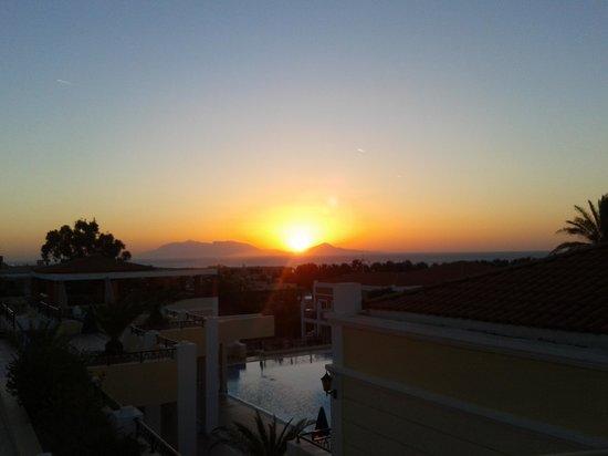 Atlantica Porto Bello Royal: sunrise at portobello royal kardamena kos