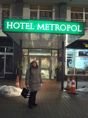 Metropol Hotel: Esterno dell'hotel