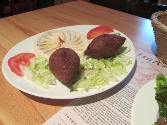 Ugarit : kebbe, a bit expensive, but well done