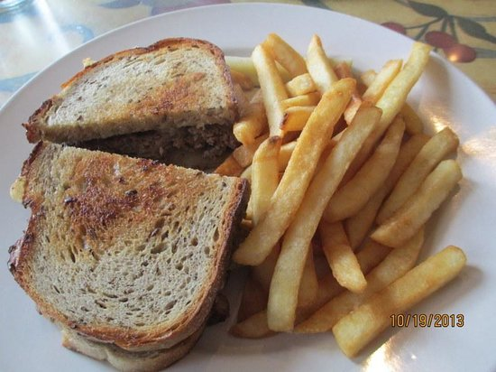 "Maxi's Restaurant: ""Margie Burger"" w/Fries"