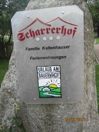 Baby- und Kinderbauernhof Scharrerhof: Scharrerhof-Stein