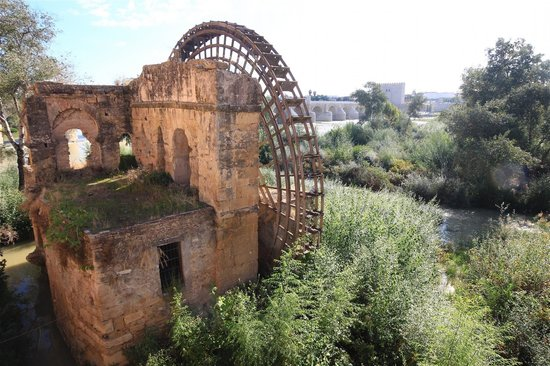 Eurostars Conquistador: The great water wheel