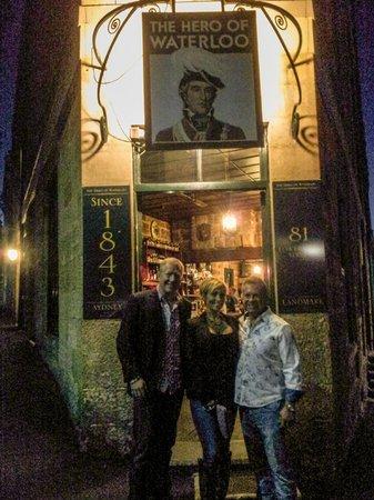 Peek Tours Sydney: Hero of Waterloo, oldest pub in Sydney