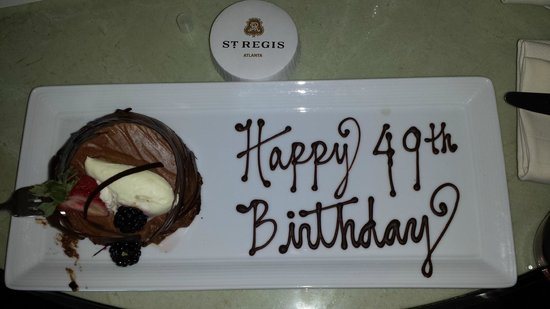 The St. Regis Atlanta: St Regis Birthday